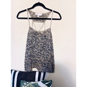 Anthropologie Patterned Tank (S)